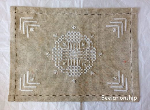 Hardanger Table Mat