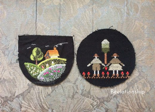 A House on the Hill and Childhood Friends Hoop Art