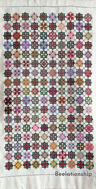 Argyle Pattern Dust Cover