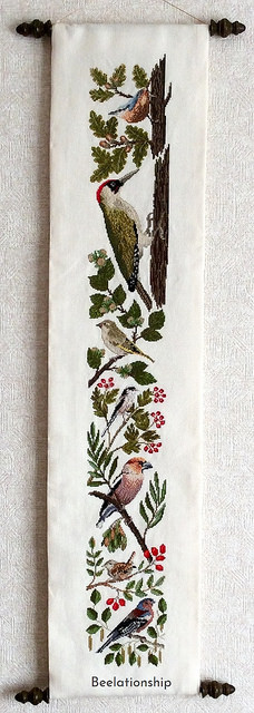 Birds in Autumn Tapestry