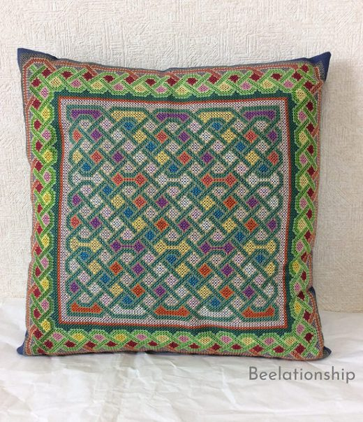 Celtic Knot Cushion