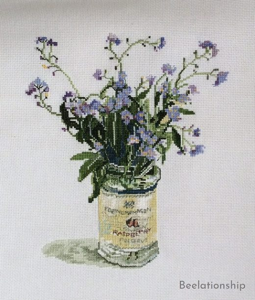Forget-me-not Dust Cover