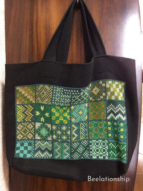 Green Green Green Tote Bag