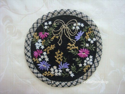 Night Blooming Flowers Coaster