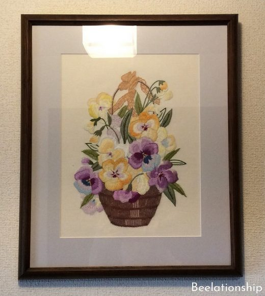 Pansy in the Basket