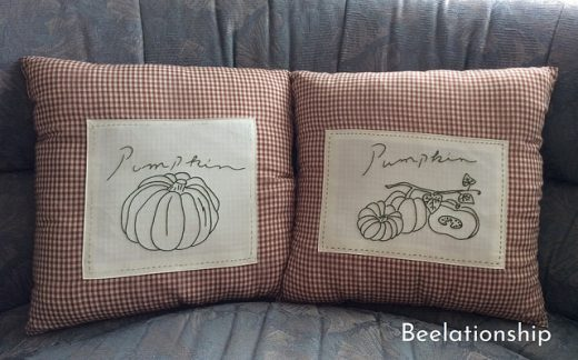 Pumpkin Cushion