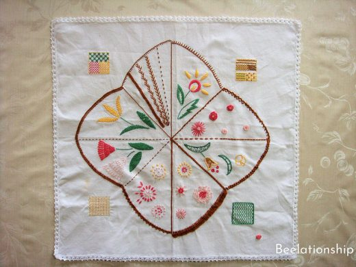 Totsuka Embroidery Practice Kitchen Cloth