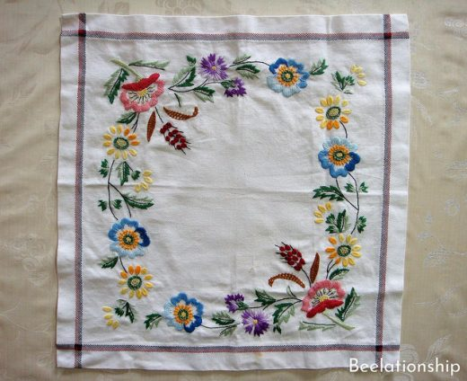 Totsuka embroidery Kitchen Cloth