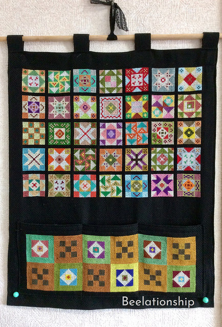 Vibrant Patchwork Tapestry