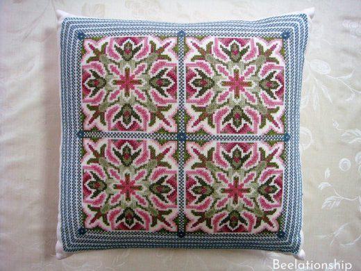 Spanish Tiles Cushion