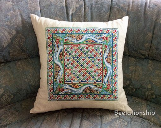 Celtic Dog Cushion 2