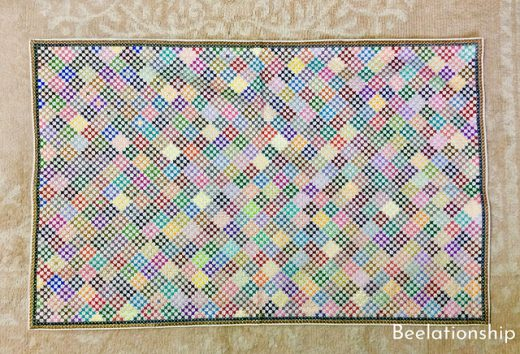 Mosaic Pattern Mat