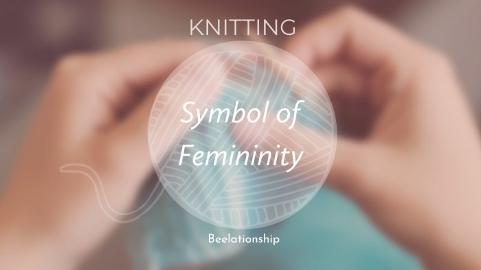 knitting symbol of femininity