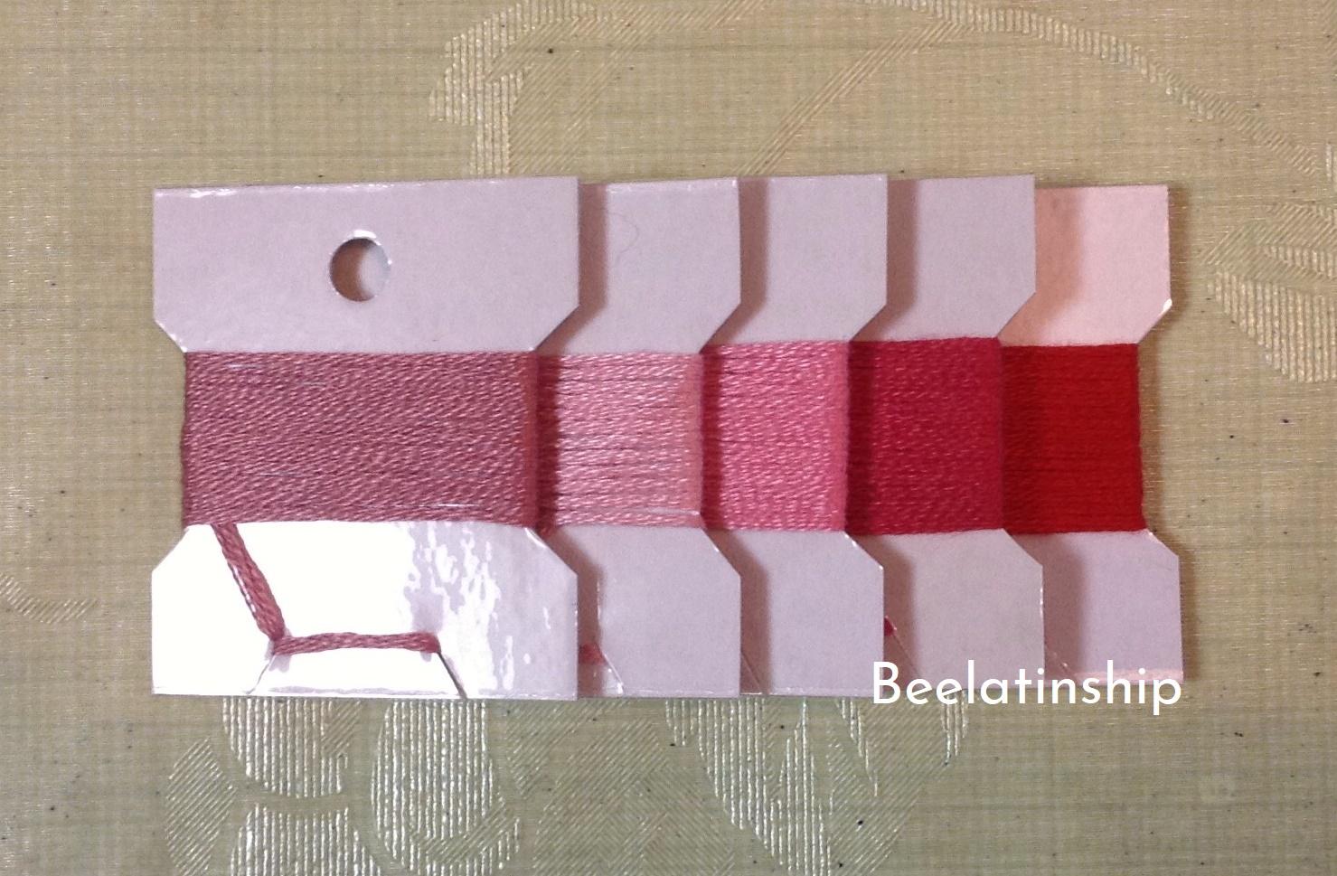 Repairing Colorful Mat thread 001