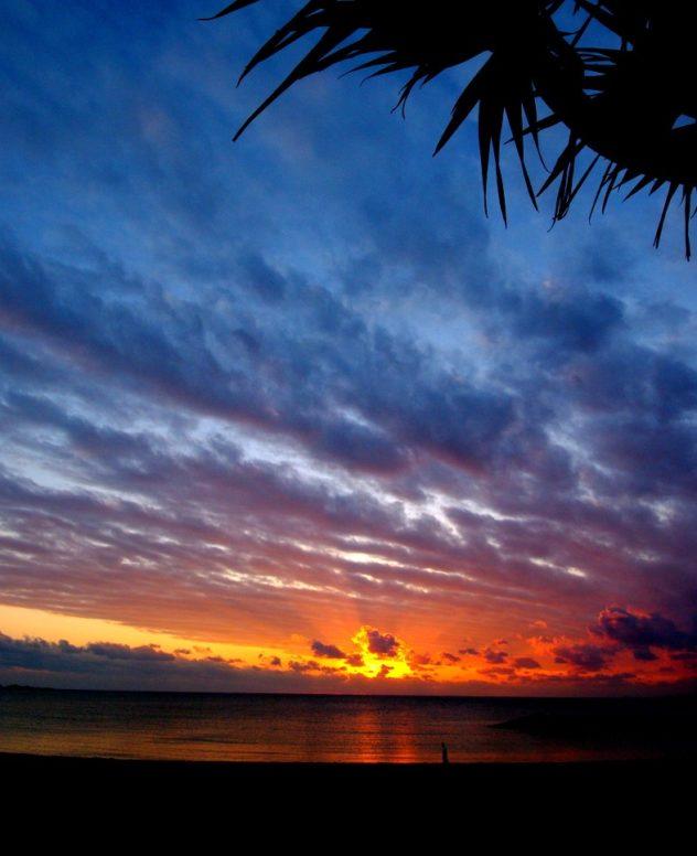 evening calm in Okinawa