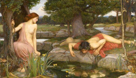 Echo and Narcissus John William Waterhouse