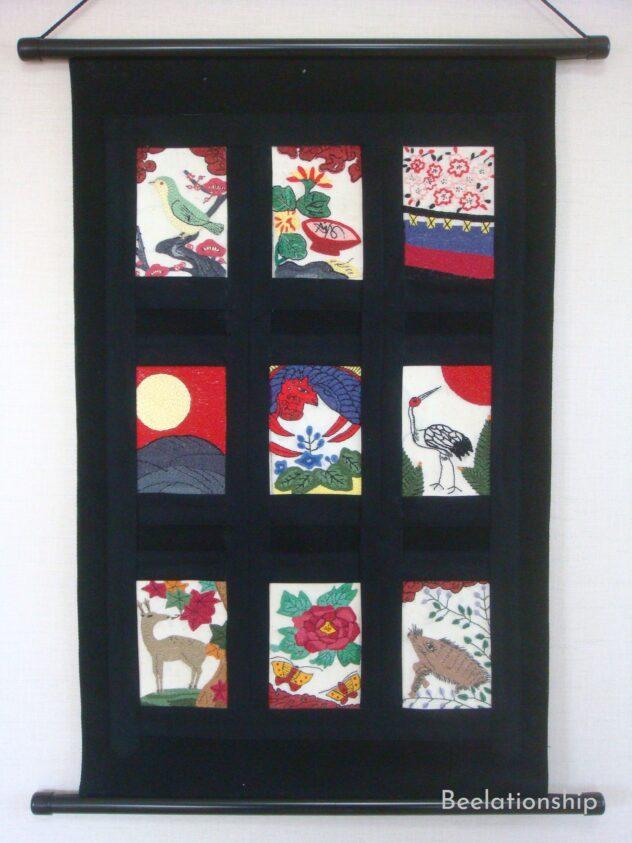 hanahuda tapestry